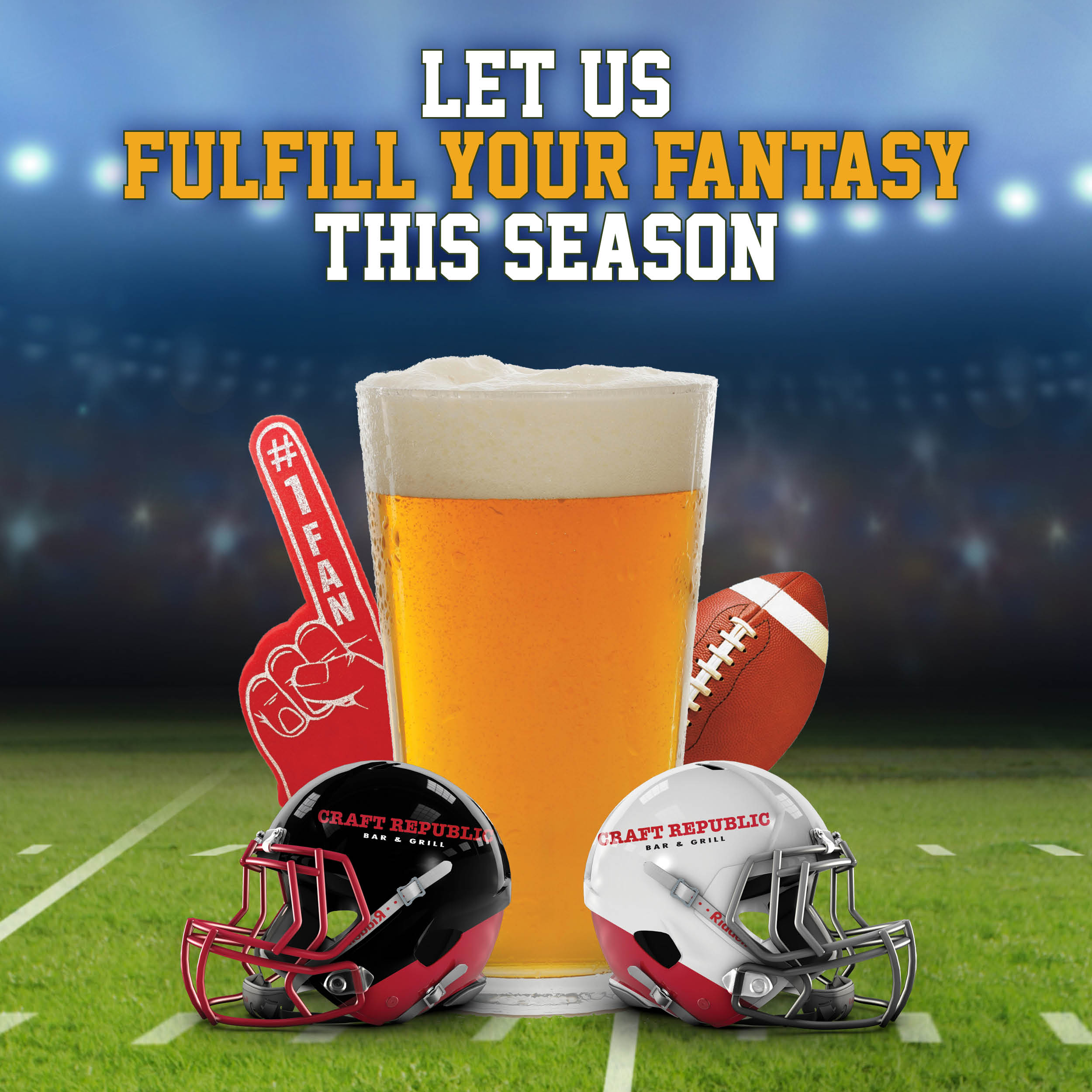 Book your Fantasy Football draft party with us!
