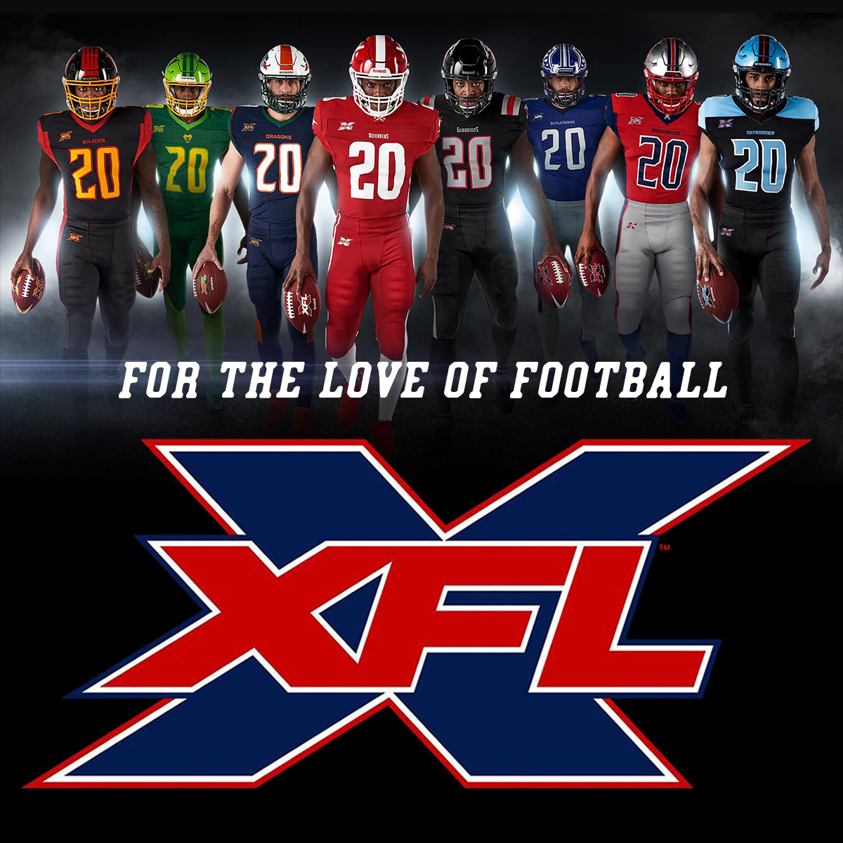 We are your XFL Football Headquarters